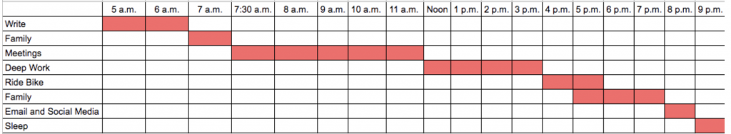 productivity-schedule