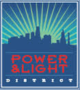 power and light apartments logo